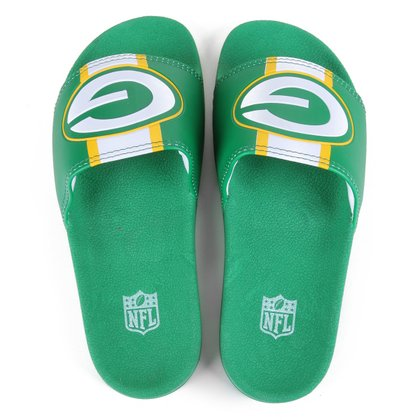Chinelo NFL Green Bay Packers New Era Slide Masculino