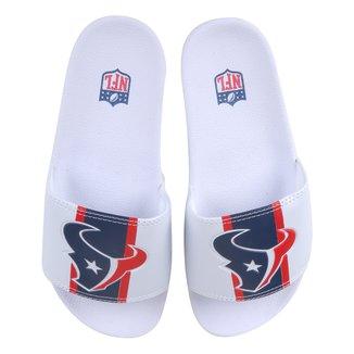 Chinelo NFL Houston Texans New Era Slide Masculino