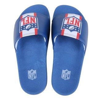 Chinelo NFL New Era Slide Shield Masculino
