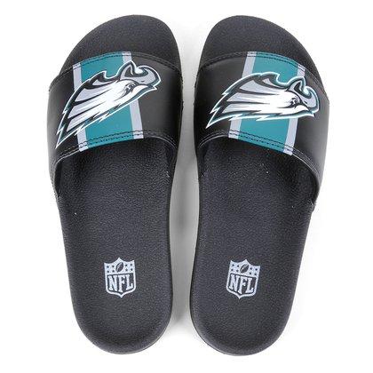 Chinelo NFL Philadelphia Eagles New Era Slide Masculino