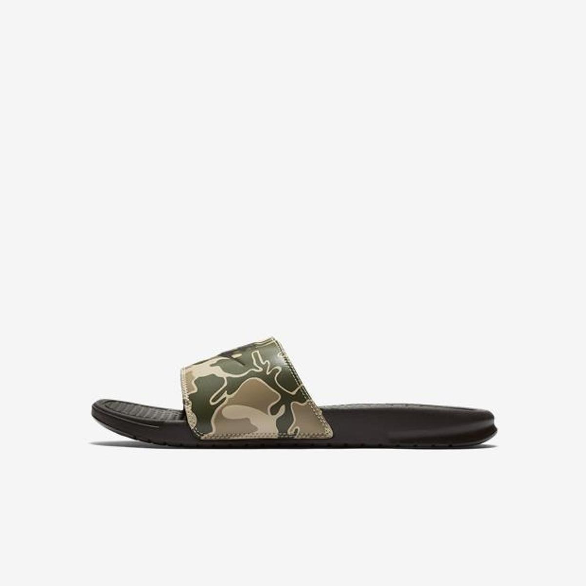 Chinelo Nike Benassi Jdi Print - Marrom - Compre Agora  86df1151beb15