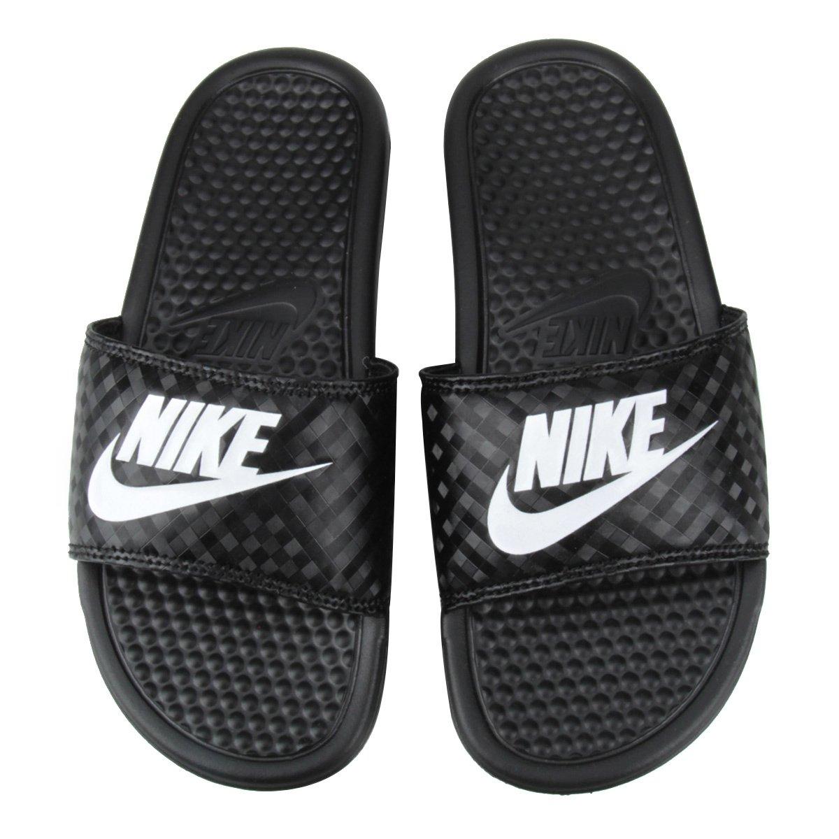 Chinelo Nike Benassi Jdi Slide Feminino Preto E Branco