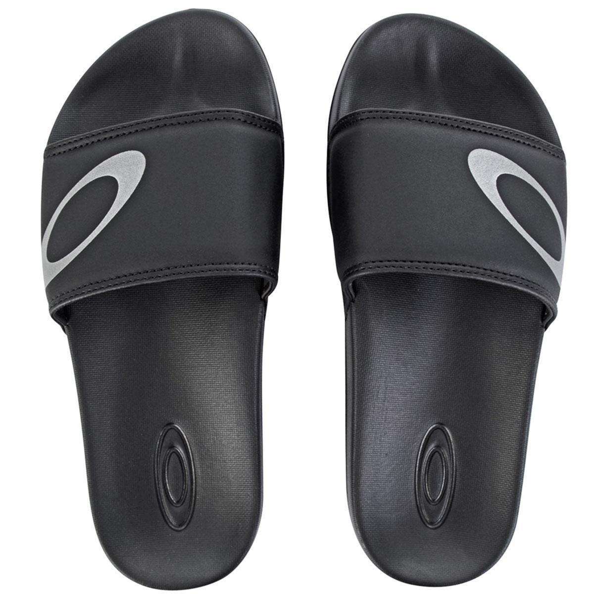 fd77ac049be1b Chinelo Oakley Malibu Slide Masculino - Compre Agora