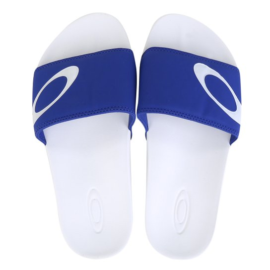 Chinelo Oakley Malibu Slide Masculino - Azul Royal