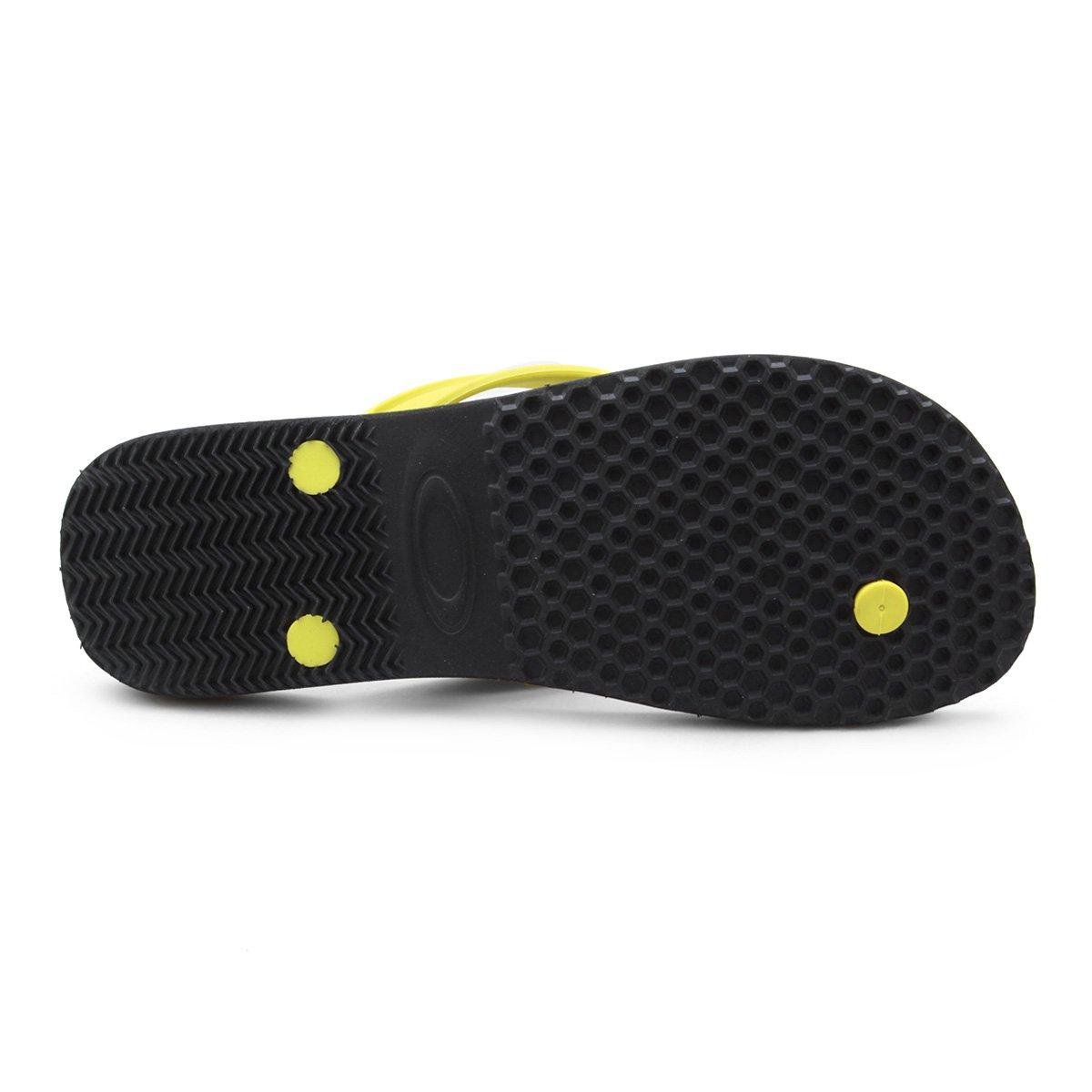 ... Chinelo Oakley Wave Point Masculino. Chinelo Oakley Wave Point Masculino  - Preto+Verde Limão da6958f4b1