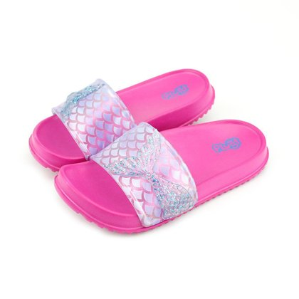 Chinelo Plugt Slide Sereia Pink