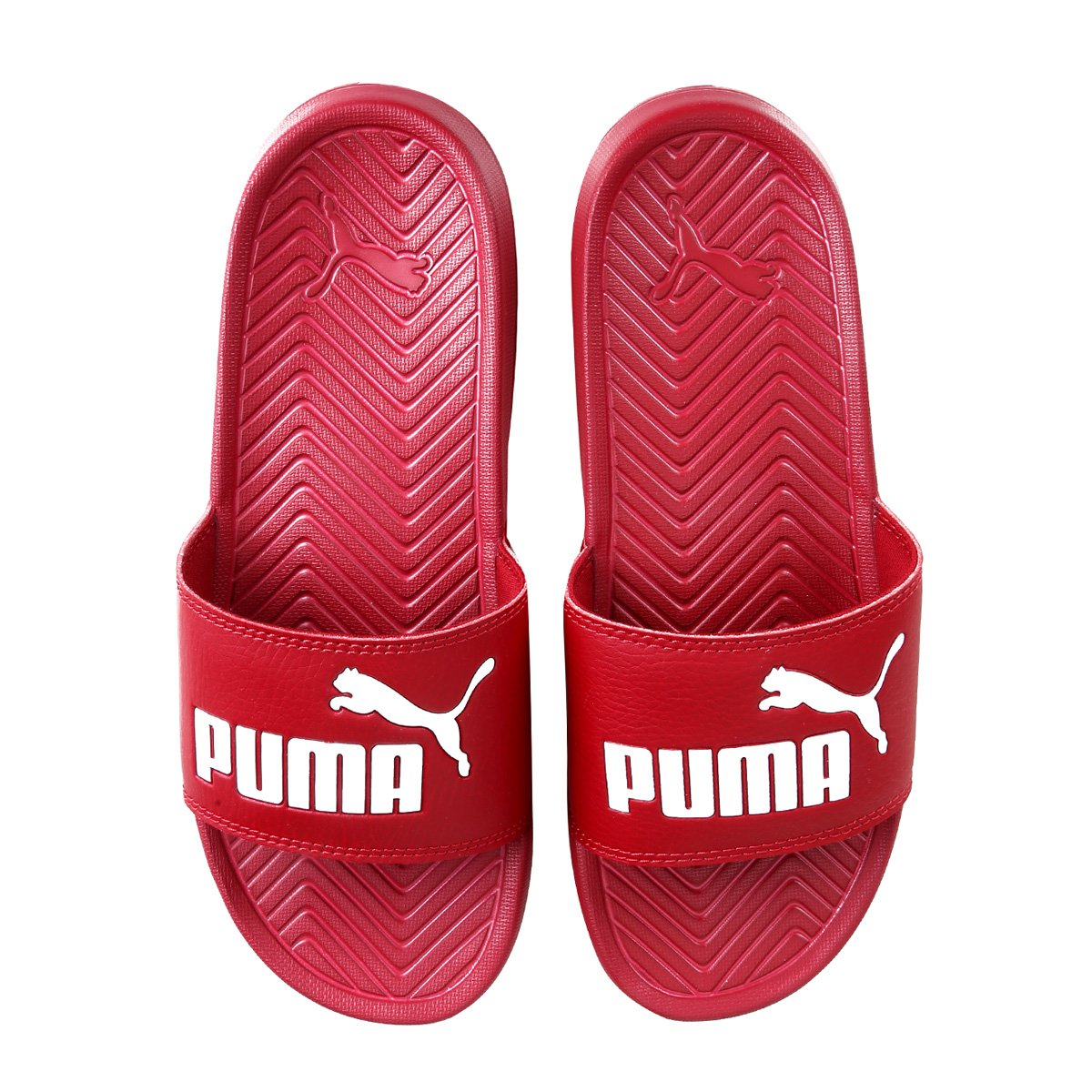 Puma Vermelho Chinelo Masculino Popcat Puma Popcat Masculino Chinelo Hwn6PZxIg