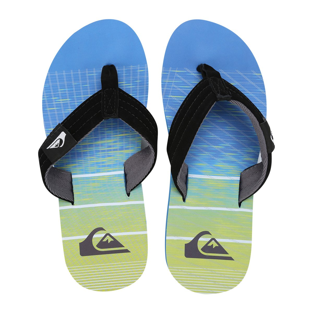 d9bff6627513b Chinelo Quiksilver Foundation Hline Masculino - Compre Agora
