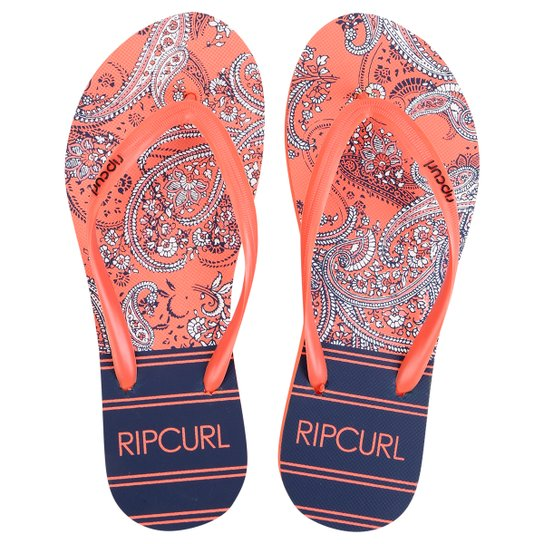 Chinelo Rip Curl Spring Paisley - Coral