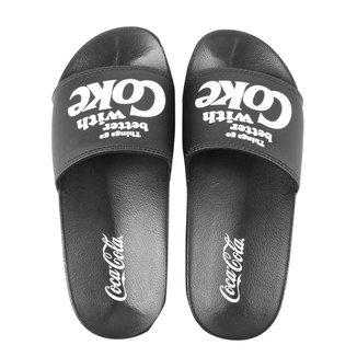 Chinelo Slide Coca-Cola Go Better Masculino
