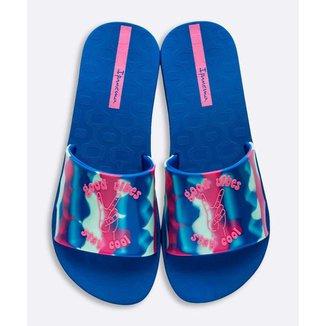 Chinelo Slide Ipanema Feminino Estampado Tie Dye - 10045240829