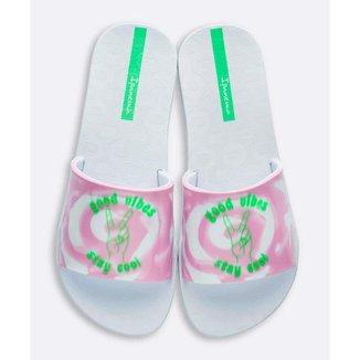 Chinelo Slide Ipanema Feminino Estampado Tie Dye - 10045240904