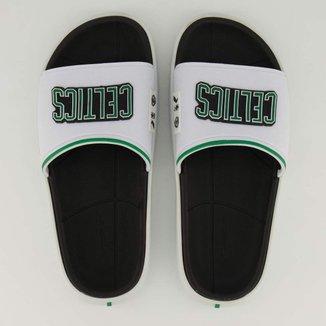 Chinelo Slide NBA Boston Celtics Rider Masculino