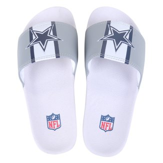 Chinelo Slide NFL Dallas Cowboys Masculino