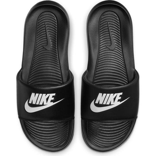 Chinelo Slide Nike Victory Masculino - Preto+Gelo
