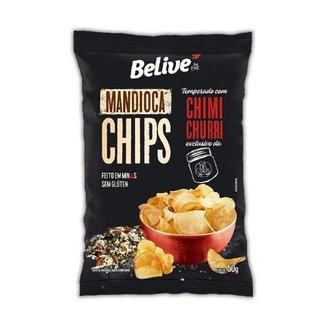 Chips de Mandioca Chimichurri 50g - Belive