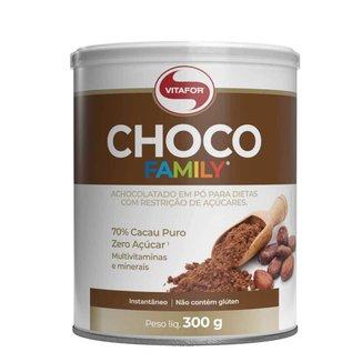 Choco Family - 300g 70% Cacau - Vitafor