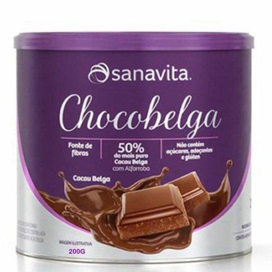 Chocobelga Sanavita Lata 200g -