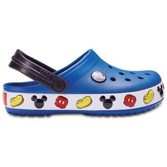 Chocs Infantil Crocband Mikckey Clog Kids Masculino