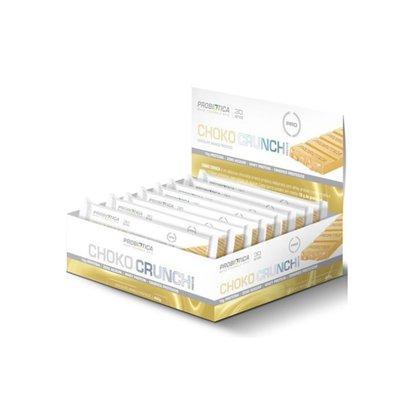 Choko Crunch Chocolate Branco (caixa c/ 12 uni) – Probiótica