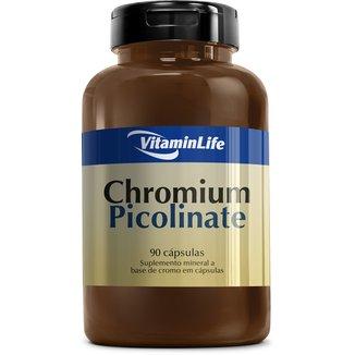 Chromium Picolinate 100% IDR 90 Cáps - Vitaminlife