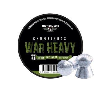 Chumbinho Tactical War Heavy 5.5mm Com 125und