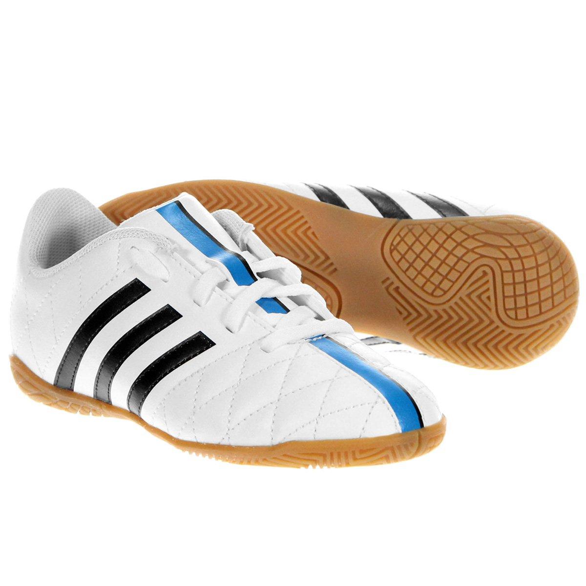 Chuteira Adidas 11 Questra IN Futsal Infantil - Compre Agora  bbb426521436c