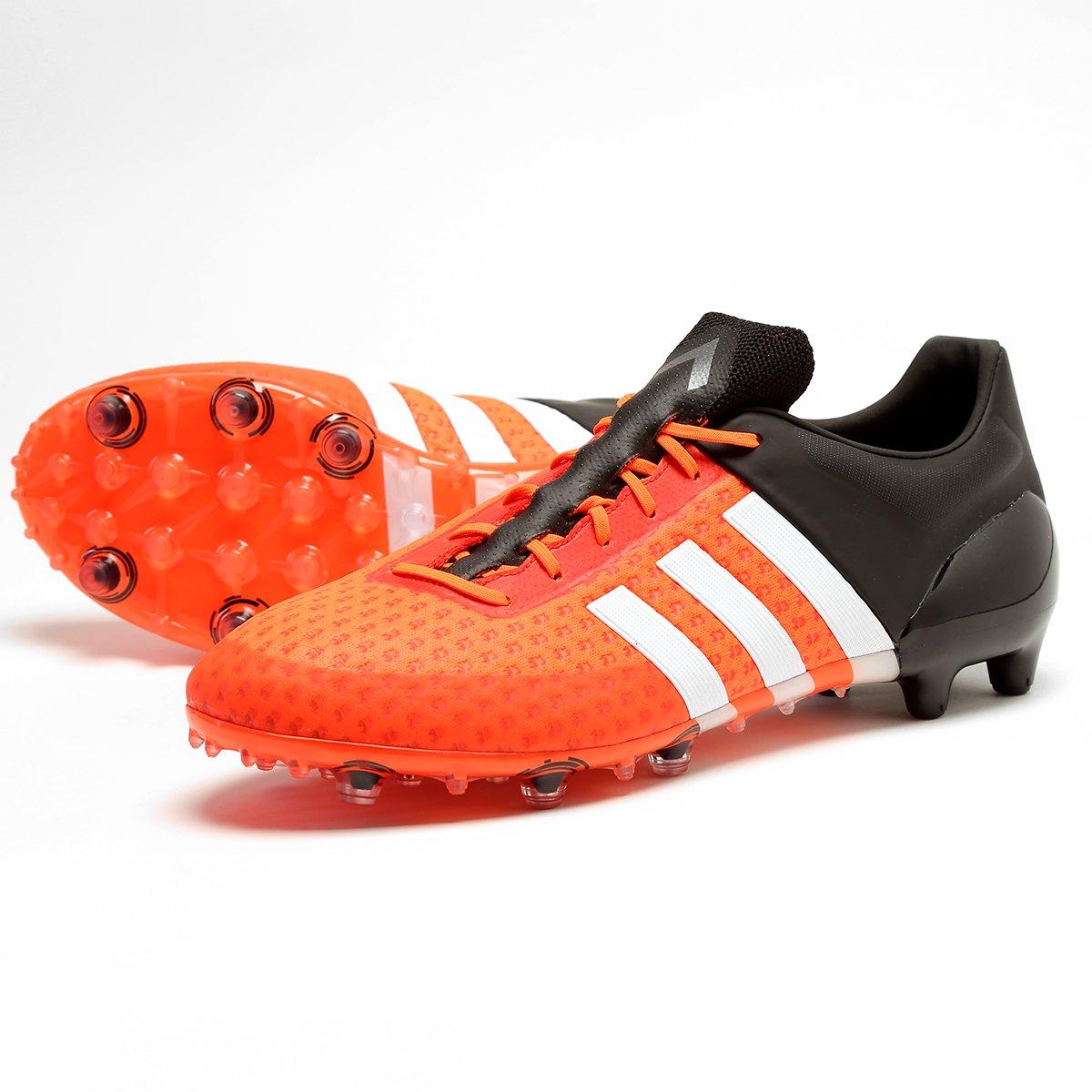 Chuteira Adidas Ace 15.1 Primeknit FG Campo - Compre Agora  c6ec2143749f8
