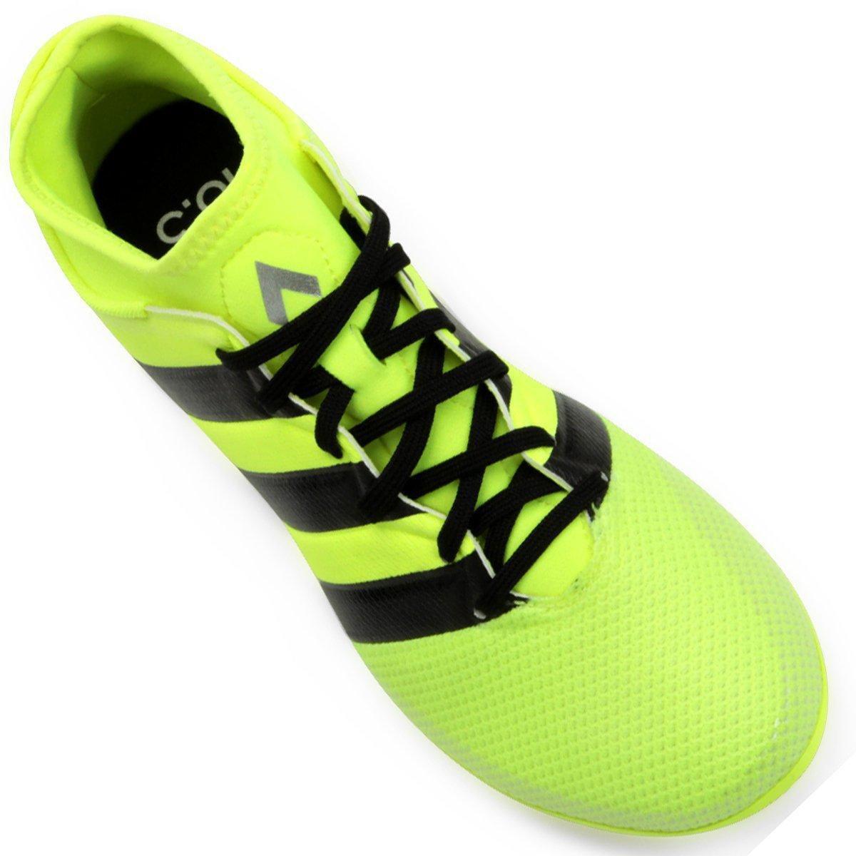 5b3f1d883dcb7 ... Chuteira Adidas Ace 16.3 Primemesh FG Campo. Chuteira Adidas Ace 16.3  Primemesh FG Campo - Verde Limão+Preto