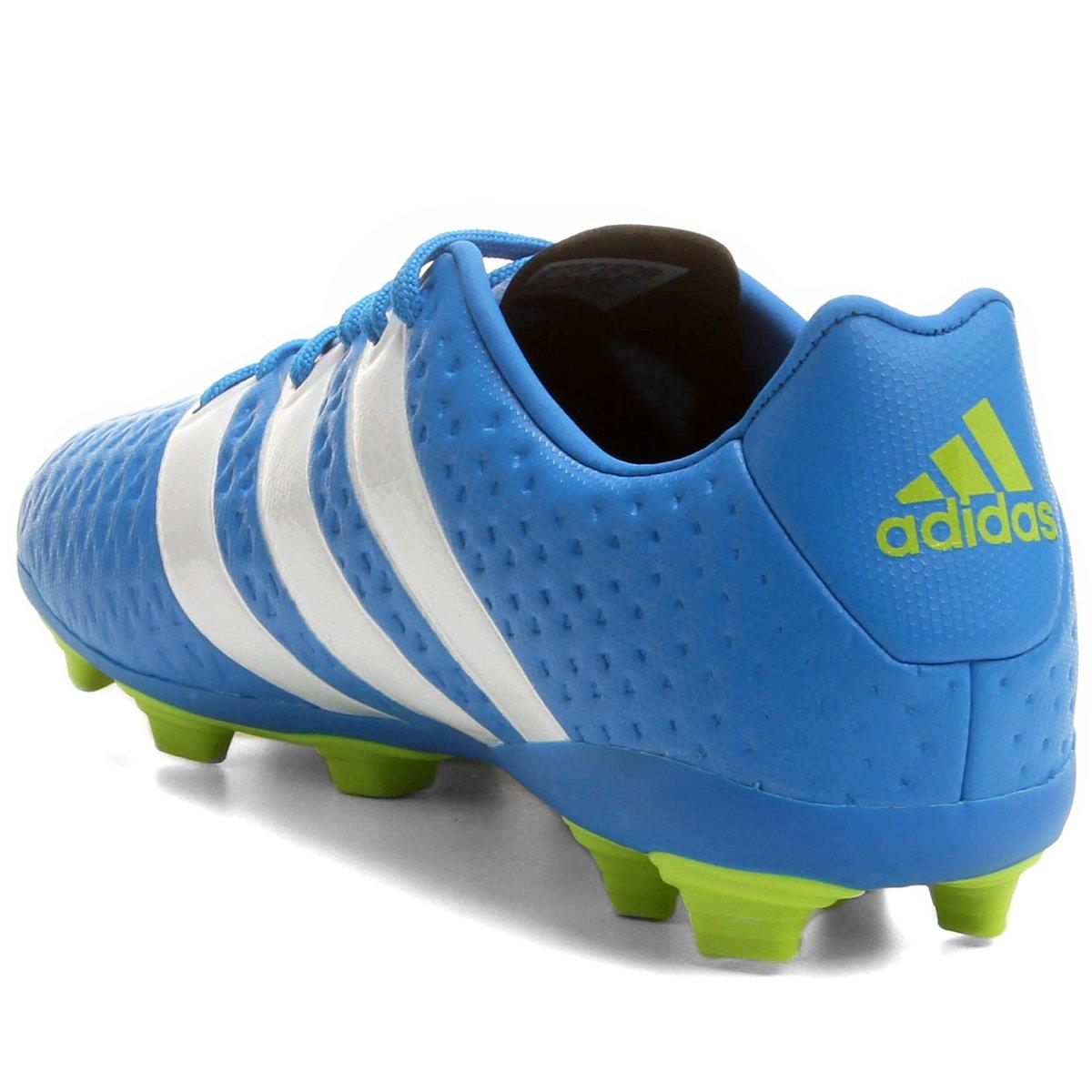 Chuteira Adidas Ace 16.4 FXG Campo Juvenil - Compre Agora  6b3316d0586d0