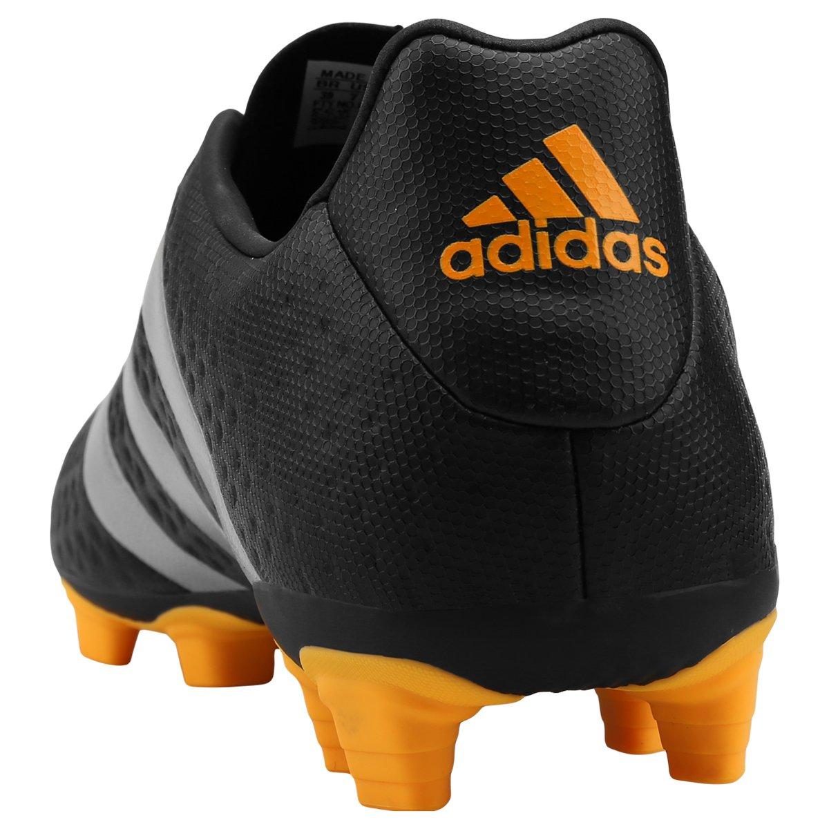 7432b59c70 Chuteira Adidas Ace 16.4 FXG Campo - Preto e Amarelo - Compre Agora ...