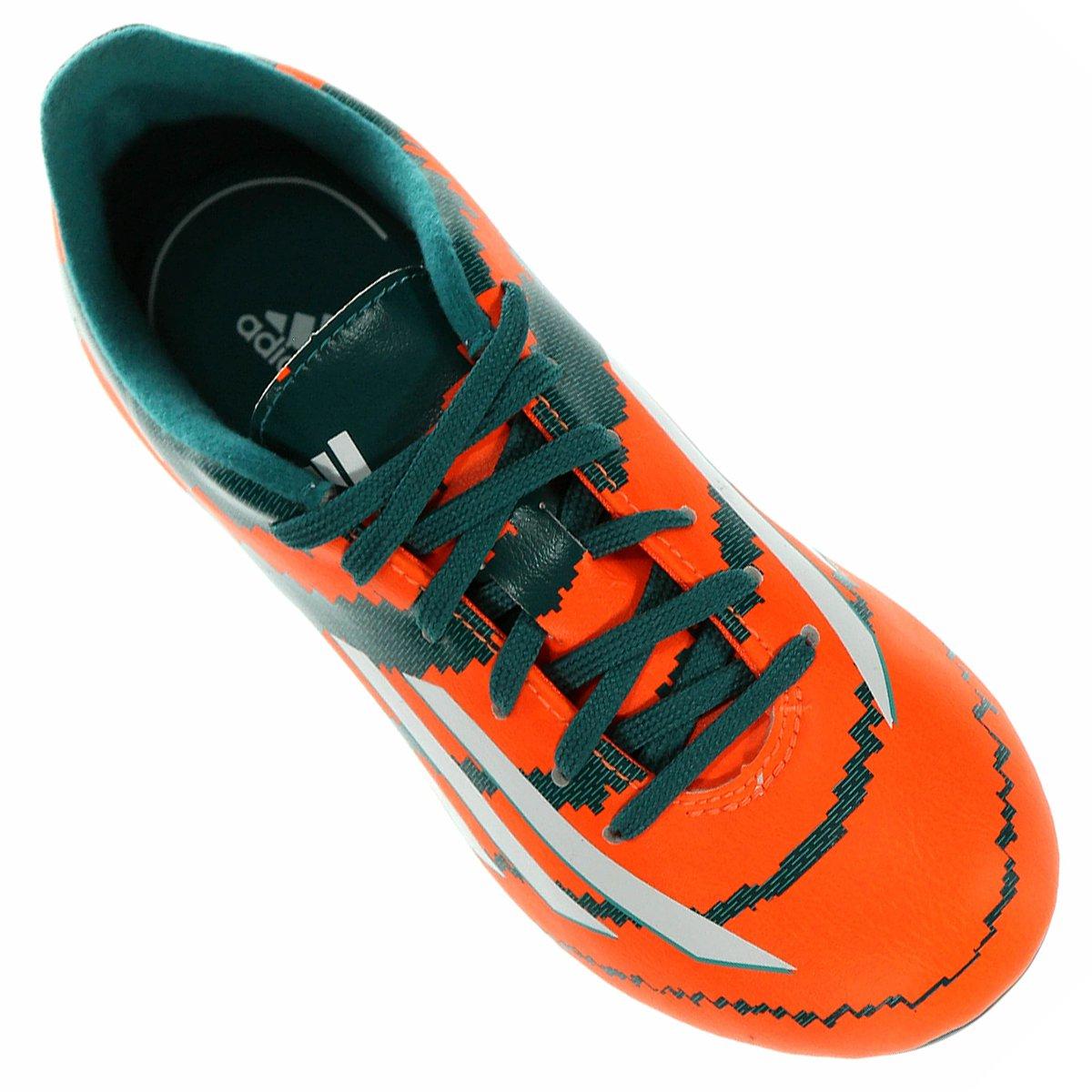 d30c251315 Chuteira Adidas F10 FG Campo Messi Infantil - Compre Agora