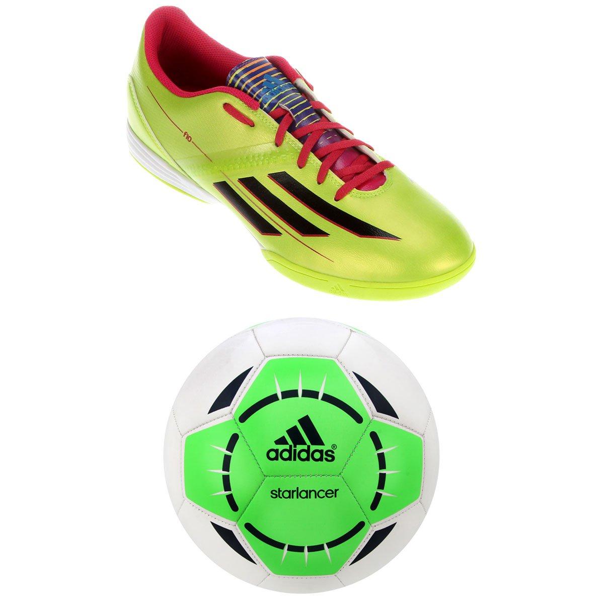 Chuteira Adidas F10 IN + Bola Adidas - Compre Agora  1603d565692ea