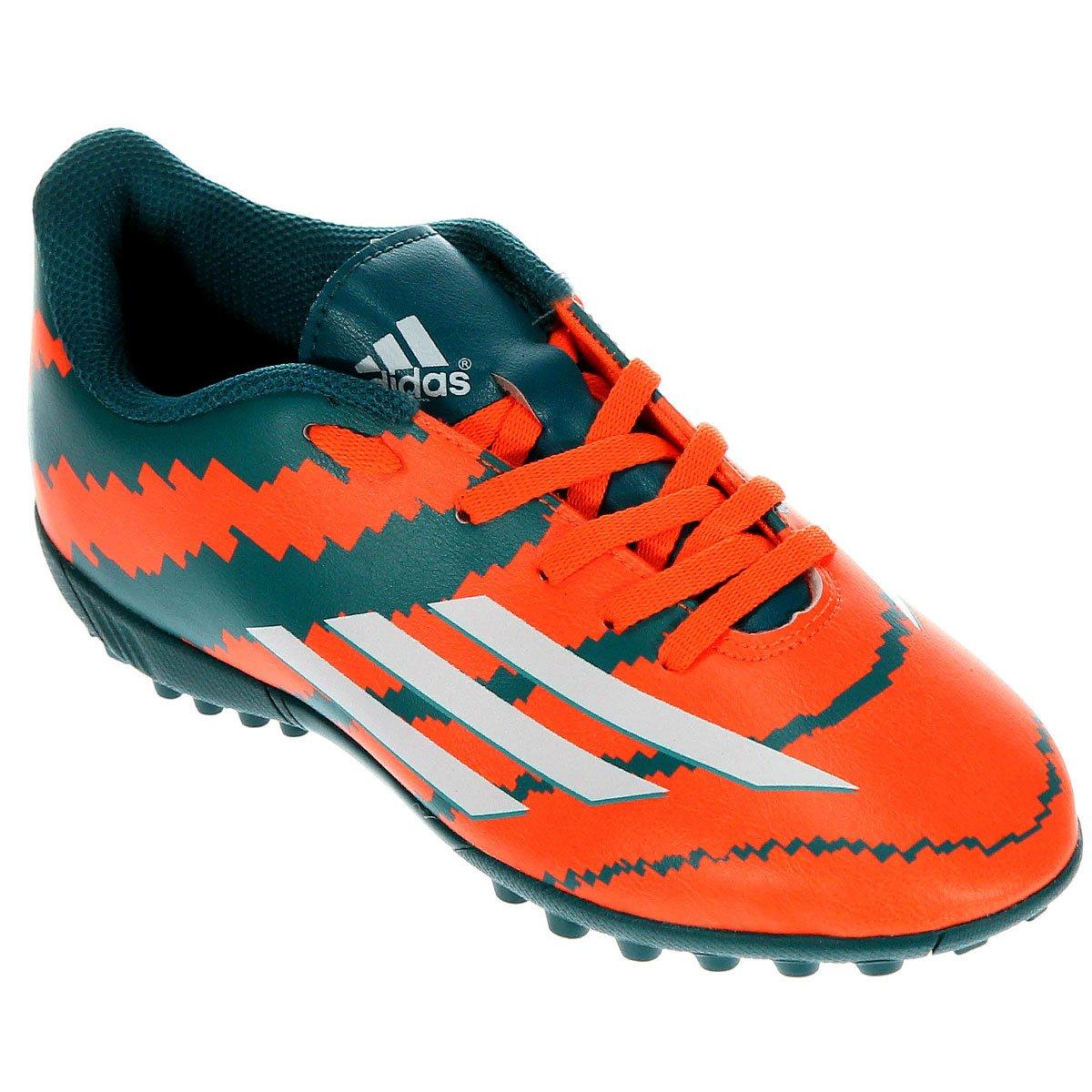 a0bb6f97f8 Chuteira Adidas F5 TF Society Messi Infantil - Compre Agora