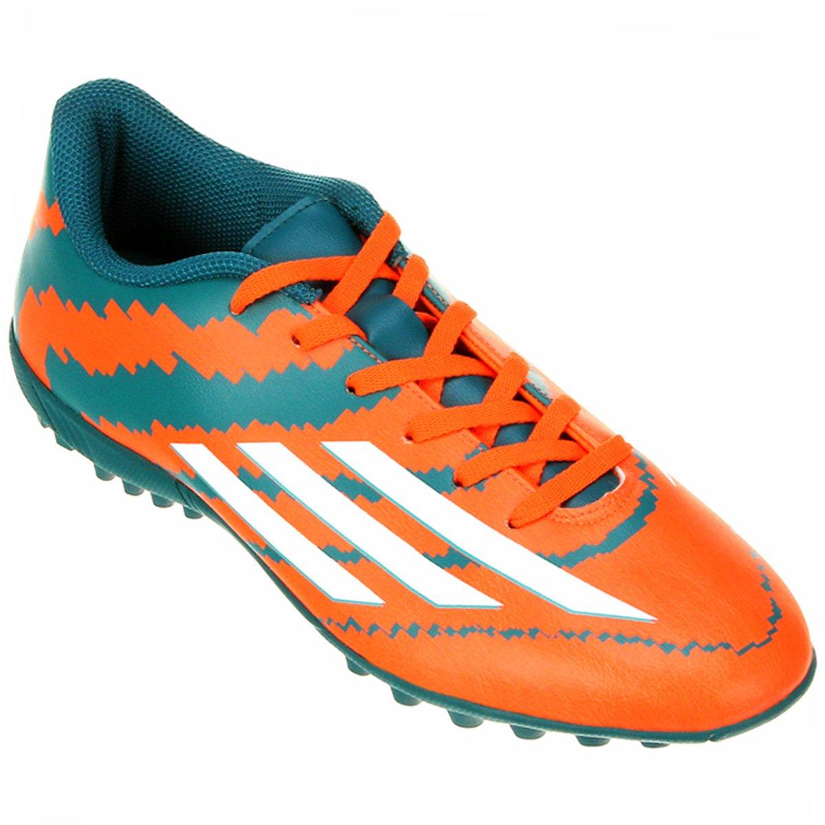Chuteira Adidas F5 TF Society Messi - Compre Agora  4be246a5bedb9