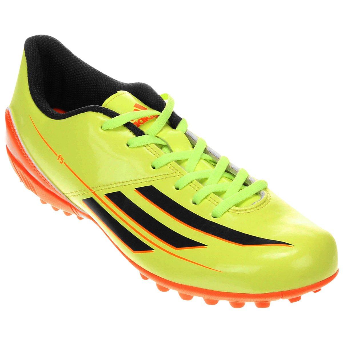 Chuteira Adidas F5 TRX TF - Compre Agora  e61fb3e2ecc35