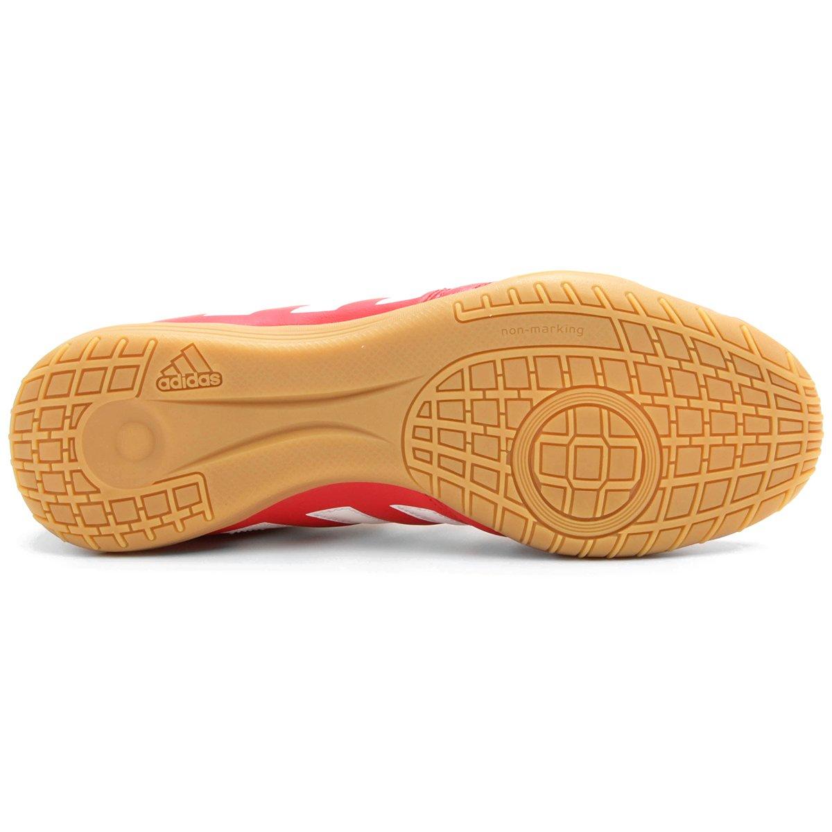 Chuteira Adidas Gloro 16.2 IN Futsal - Vermelho e Branco - Compre ... 8cdc4cfedd767