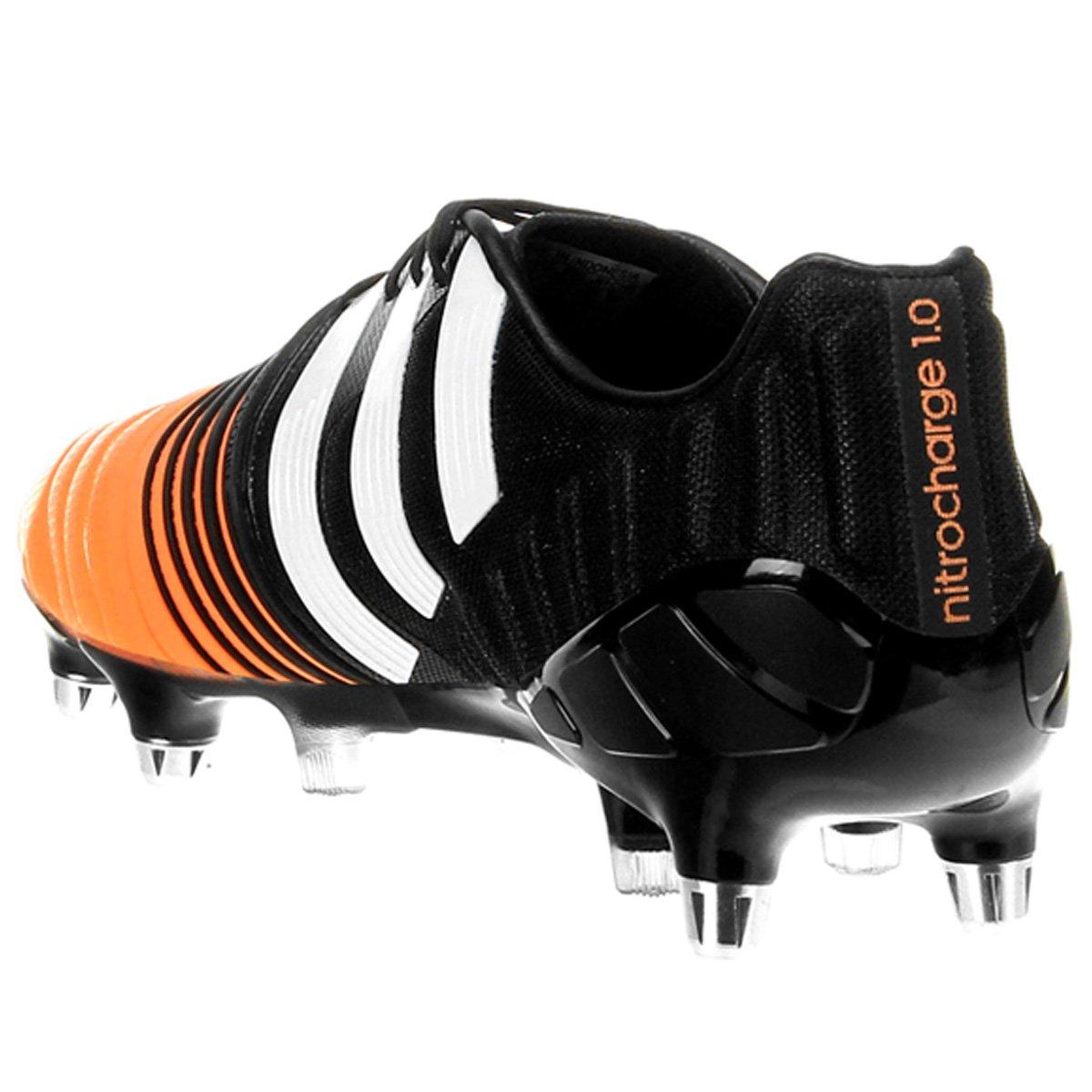 premium selection 2b1c4 f83a8 ... sweden botines adidas f5 trx fg netshoes chuteira adidas nitrocharge  1.0 sg campo preto e laranja