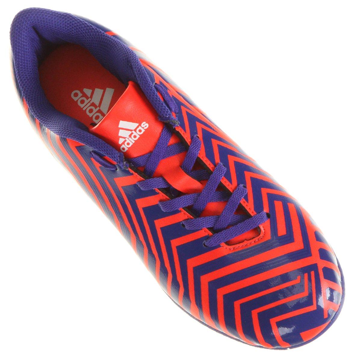 Chuteira Adidas Predito Instinct TF Society - Compre Agora  b53884df3d622