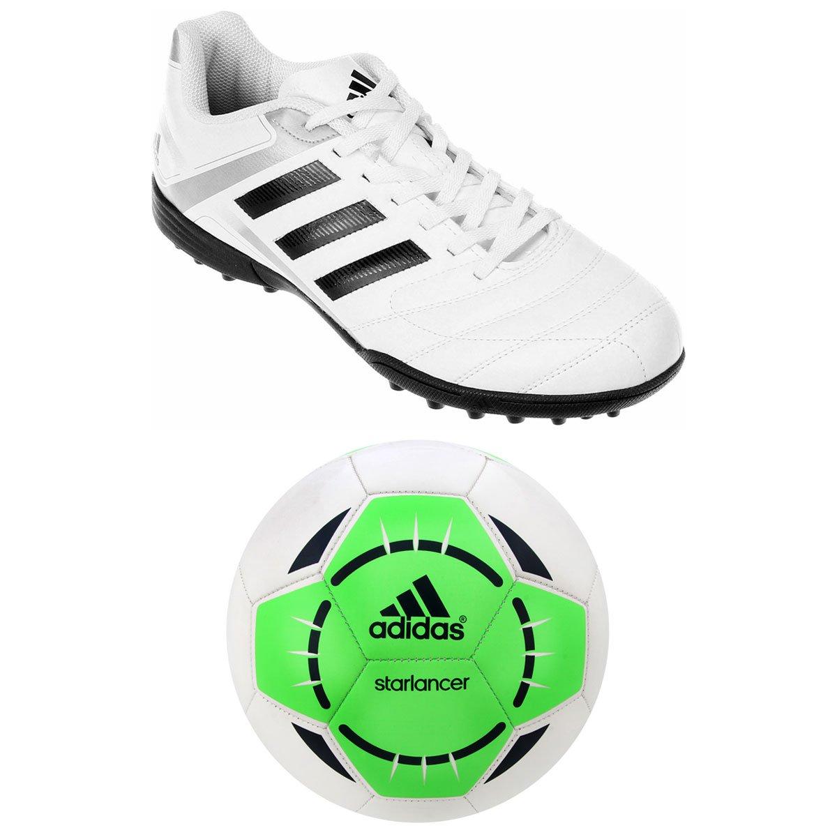 Chuteira Adidas Puntero 9 TF Society + Bola Adidas - Compre Agora ... c18df446e7817
