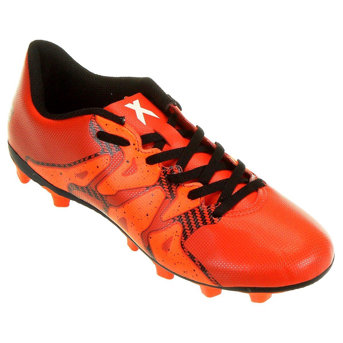 Chuteira Adidas X 15 4 FG Campo - Compre Agora  1054a3a862d8d