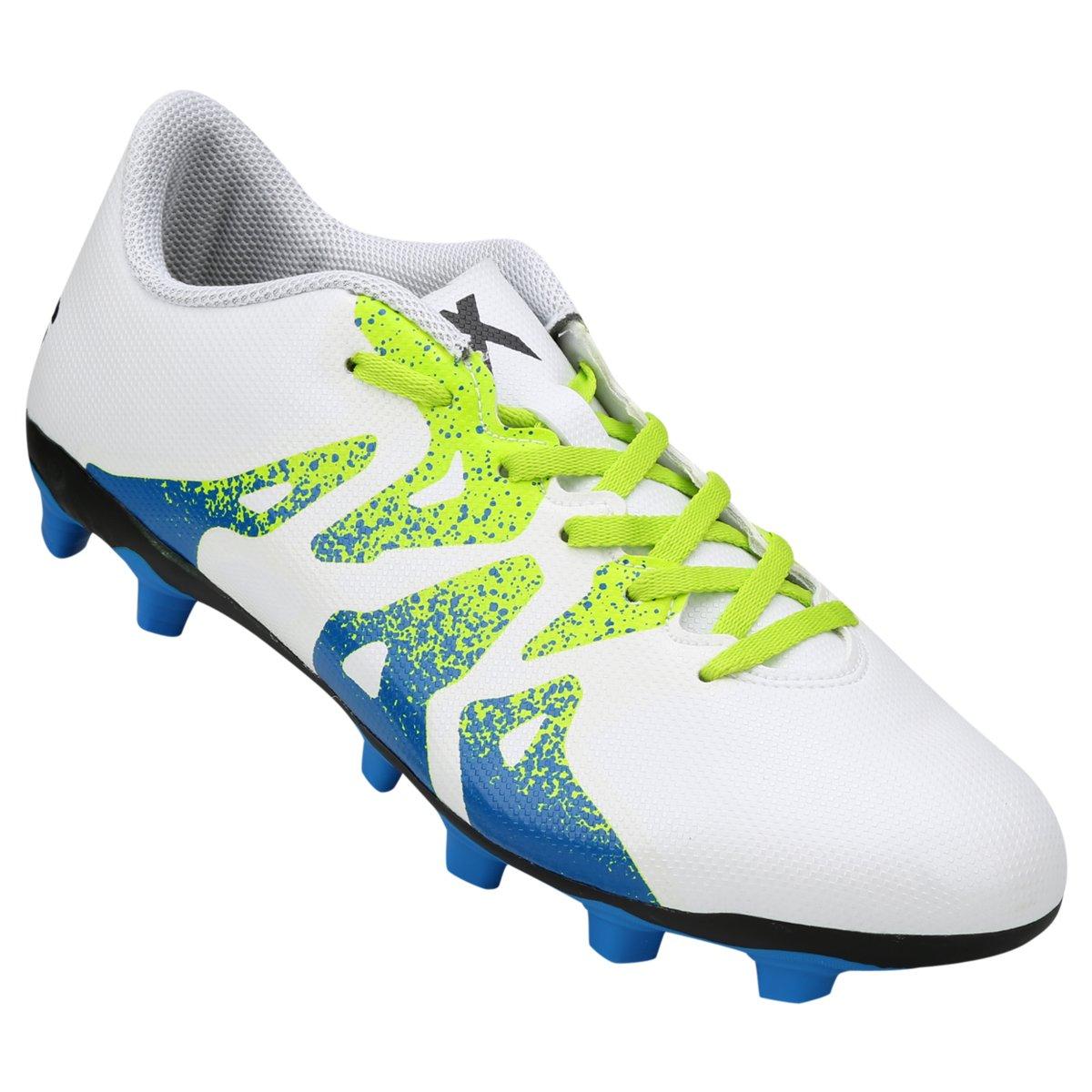 Chuteira Adidas X 15 4 FXG Campo - Compre Agora  8dcff942a7283