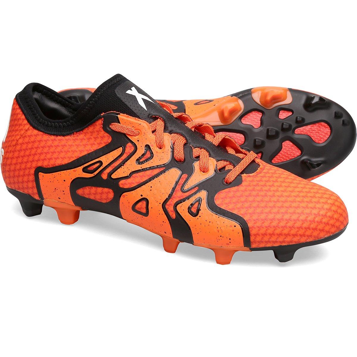 Chuteira Adidas X 15.1 Primeknit FG Campo - Compre Agora  5506b68e6aab3
