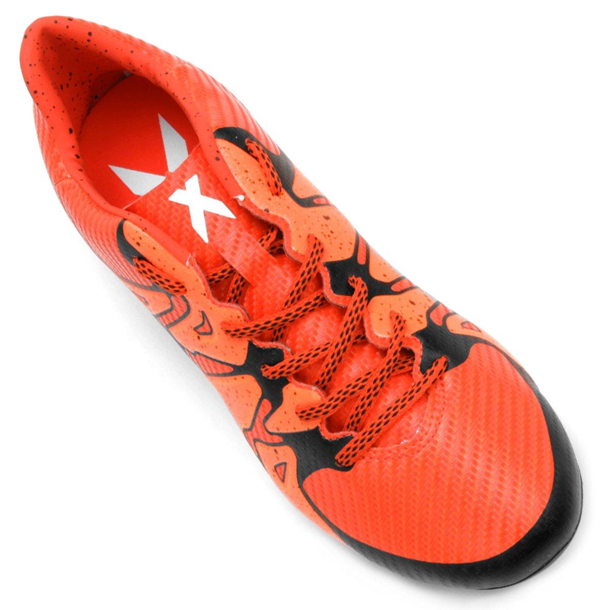 Chuteira Adidas X 15.3 FG Campo - Compre Agora  1a35a59bdc63a