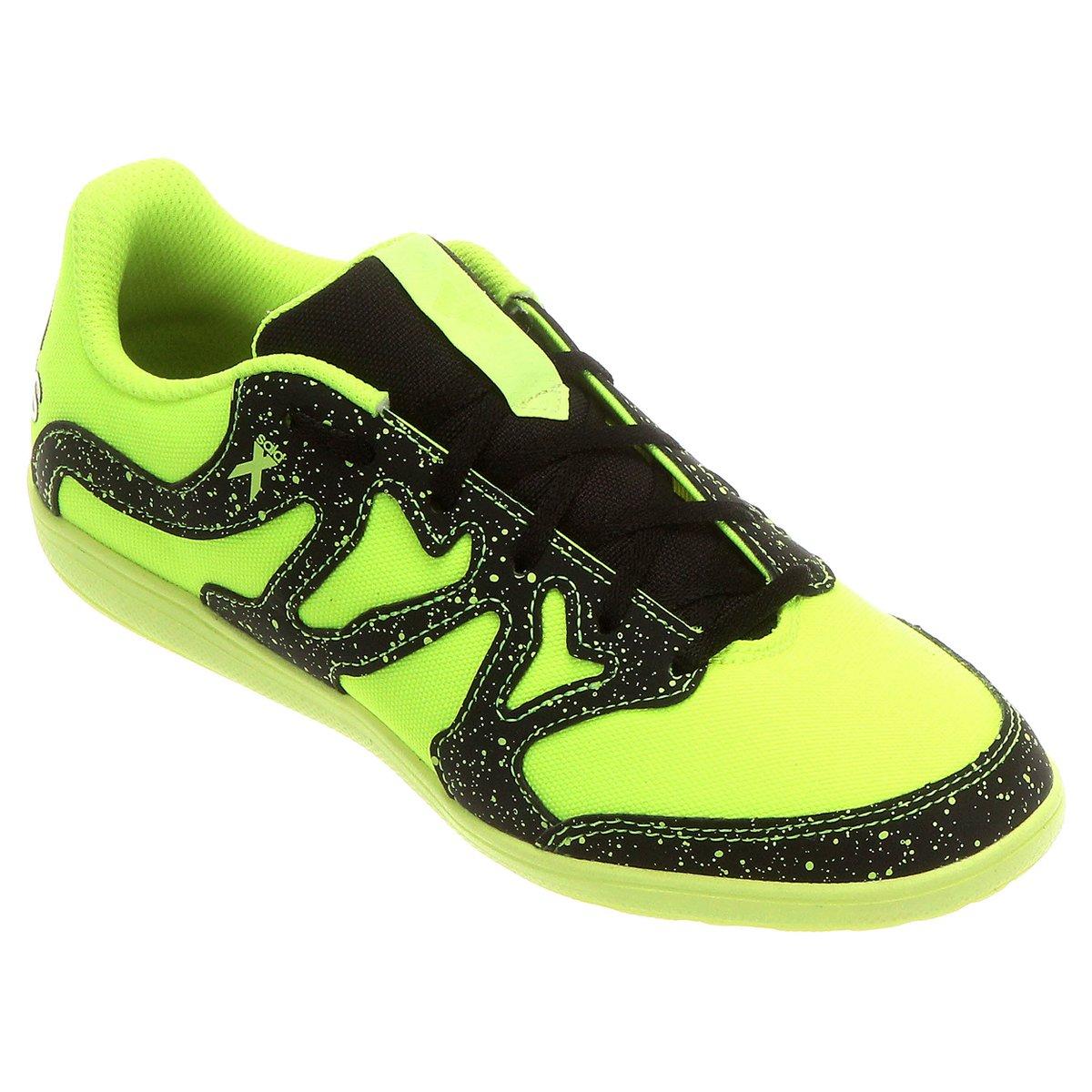Chuteira Adidas X 15.4 Street Futsal Juvenil - Compre Agora  e0763f35a15d8