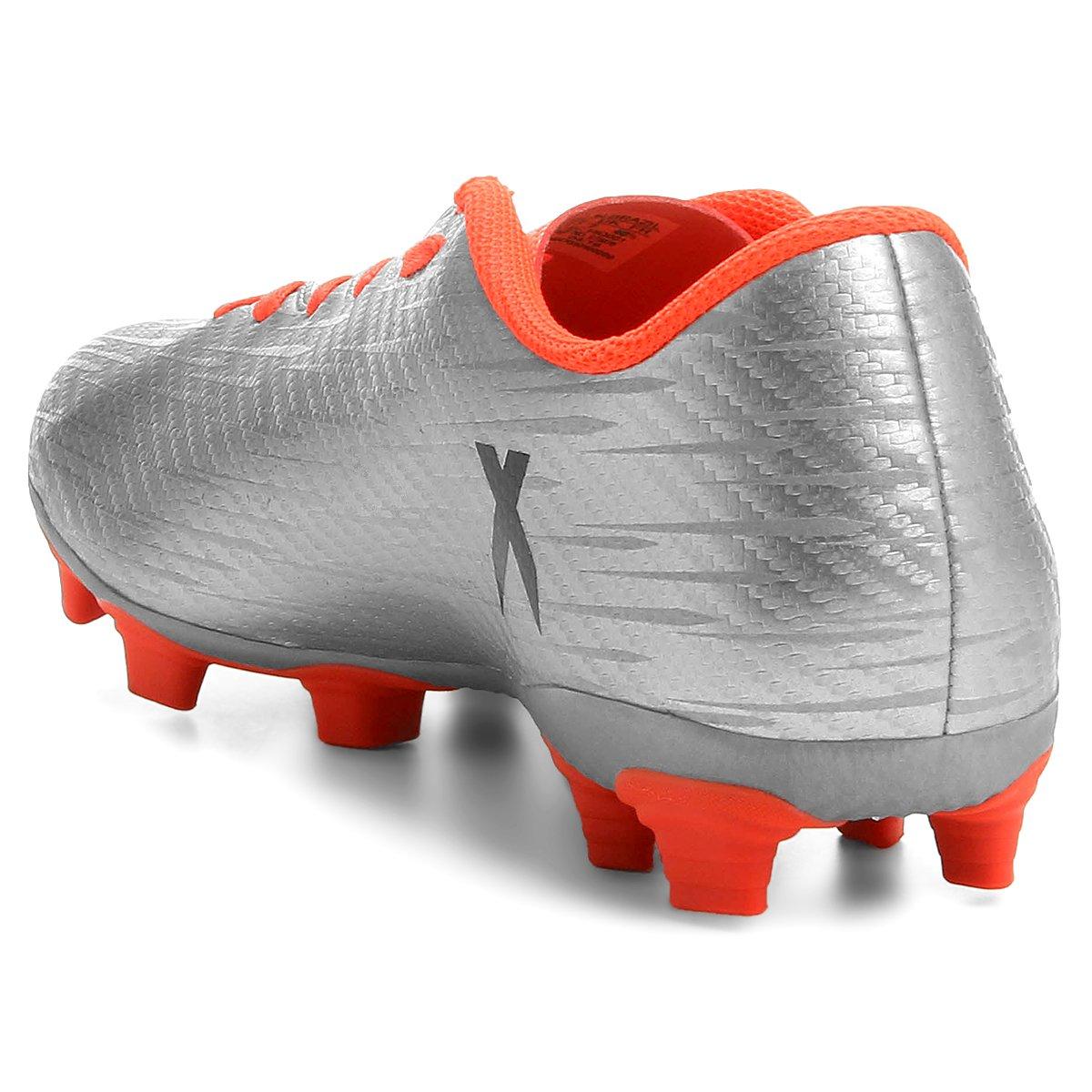7c3db45866 Chuteira Adidas X 16.4 FXG Campo - Compre Agora