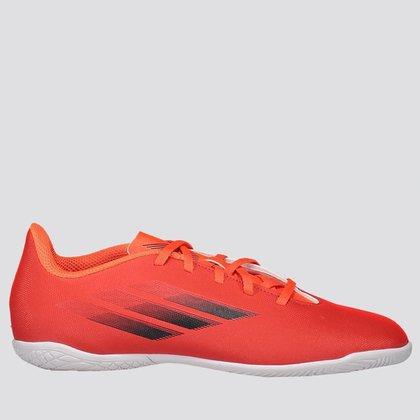 Chuteira Adidas X SpeedFlow 21.4 In Futsal Juvenil Vermelha