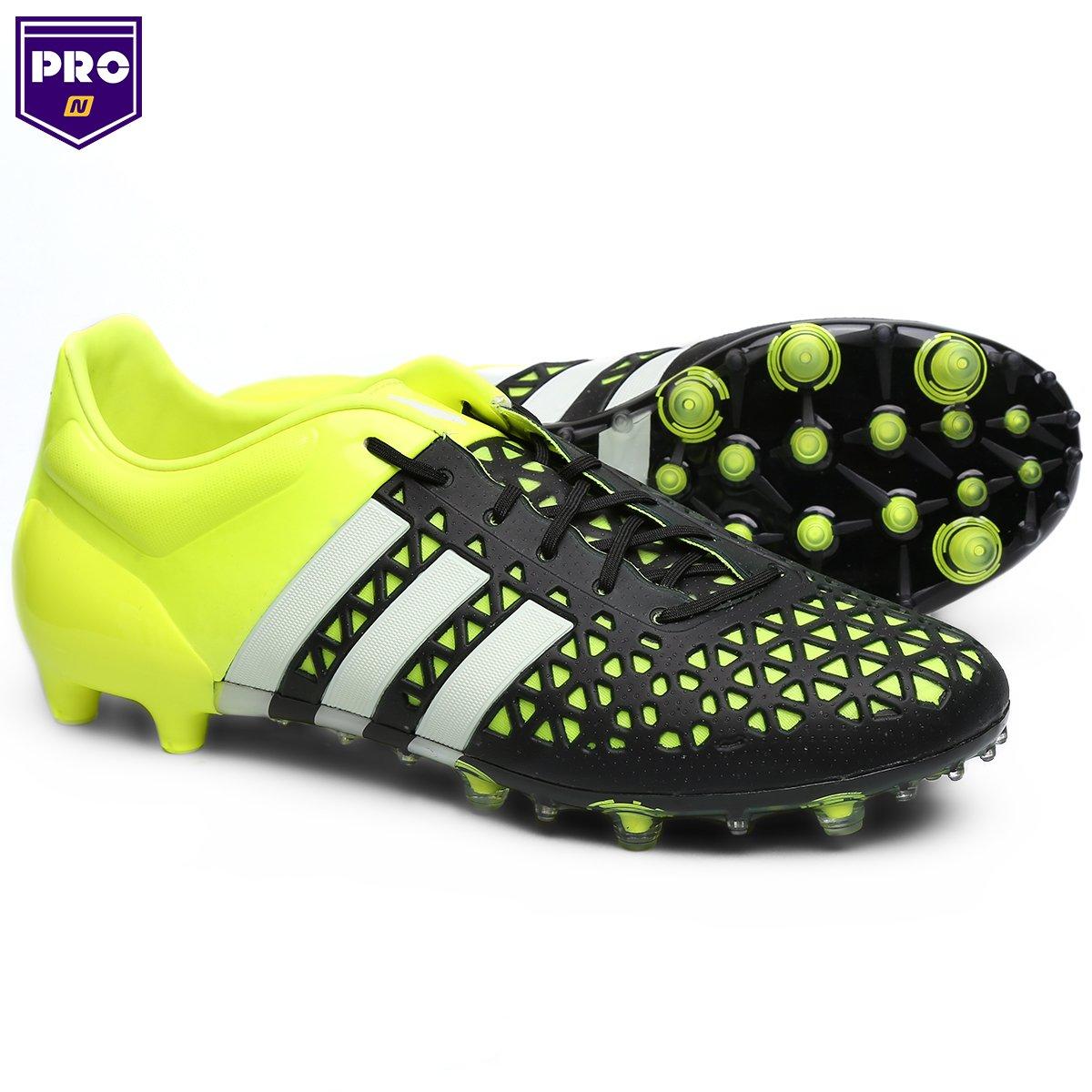 Chuteira Campo Adidas Ace 15 1 FG Masculina - Compre Agora  97bceda814aac