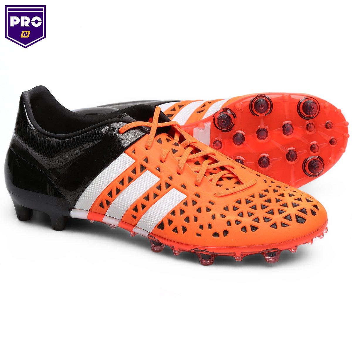 Chuteira Campo Adidas Ace 15 1 FG - Compre Agora  45436c4947b2a