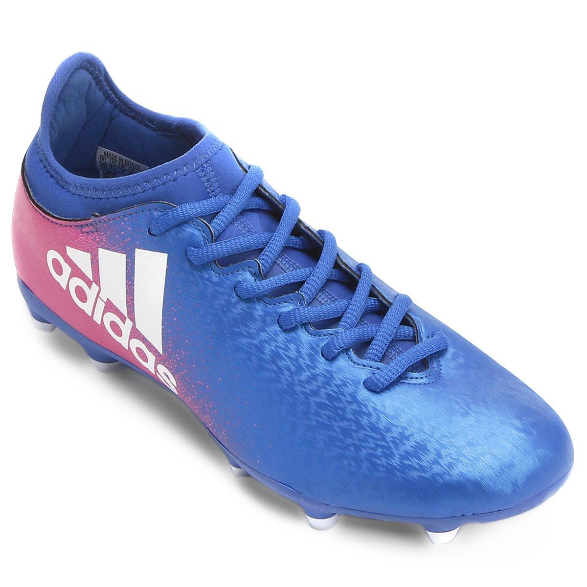Chuteira Campo Adidas X 16.3 FG Masculina - Compre Agora  aefc2cb86029f